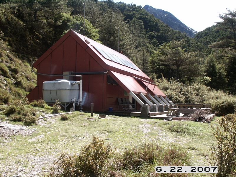 中央金礦山屋